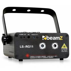 Beamz LS-RG11 Laser DMX Red & Green w/Gobo