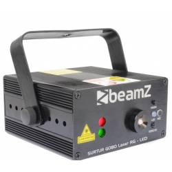 Beamz Surtur Laser Red Green W/Gobos & Led