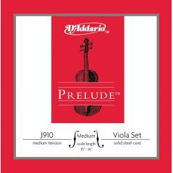 D'addario Prelude J910 Viola String Set Medium