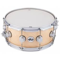 Dw Collector's Satin Oil Snare 14x6 Maple Natural
