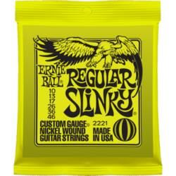 Ernie Ball 2221 Electric Guitar Strings Set 10-46