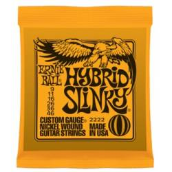 Ernie Ball 2222 Electric Guitar Strings Set 09-46