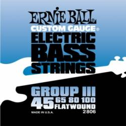 Ernie Ball 2806 Electric Bass Strings Set Flatwound