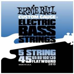 Ernie Ball 2810 Electric Bass Strings Set 45-130 Flatwound