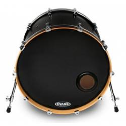 Evans BD22 REMAD Drumhead Resonant Black