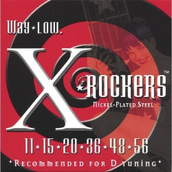 Everly X Rockers 9112 Electric Guitar Strings Set 12-60
