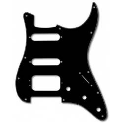 Fender Pickguard HSS 3-Ply Black