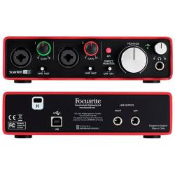 Focusrite Scarlett 2i2 2nd Generation Audio Interface