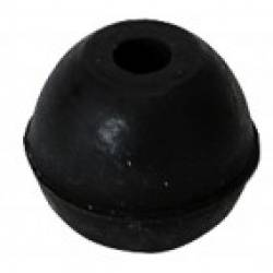 Gewa Support Tip Rubber Round Black Cello