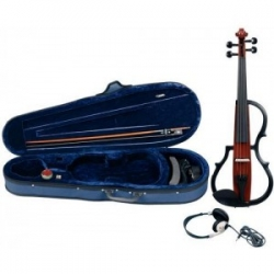 GEWA Line II Electric Violin Complete 4/4 Brown