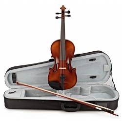 Gewa VL1 Allegro Violin Complete 4/4 Oval Case Carbon Bow