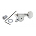 Gotoh SG503-05 HAPM Guitar L6 Tuners 6 in Line Magnum Adjustable Chrome