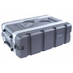 Huiyou ABS-3US Flight Case ABS 3 Unit Short