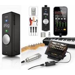IK Multimedia IRig Pro Audio Midi Interface