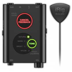 IK Multimedia IRig Acoustic Stage Audio Interface