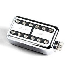 Lollar Humbucker LollarTron Bridge Pickup - Nickel
