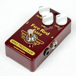Mad Professor Fire Red Fuzz Hand Wired - USED