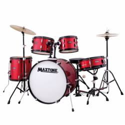 Maxtone MXC-3012/18 Drum Complete Red