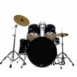 Oyster F100 Drum Jr Black