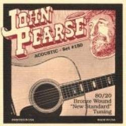 John Pearse 160SL Acoustic Guitar Strings Set 11-50 Bronze