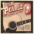 John Pearse 100XL  Acoustic Guitar String Set 10-47 80/20 Bronze