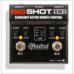 Radial Big Shot SW2 Universal Remote Footswitch