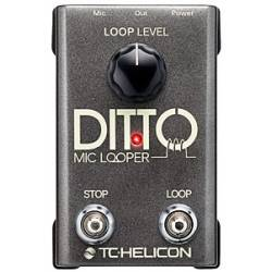 TC Helicon Ditto Mic Voice & Instruments Looper