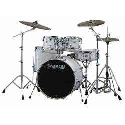 Yamaha New Stage Custom SBP2F5 Drum Complete Pearl White